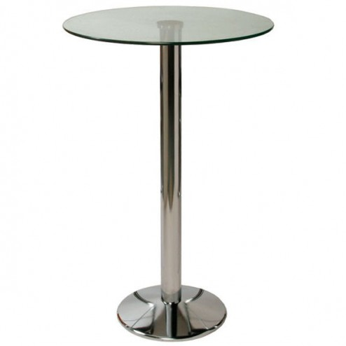 Poseur Table - Clear Top