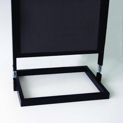 Easy to assemble display stand  in minutes