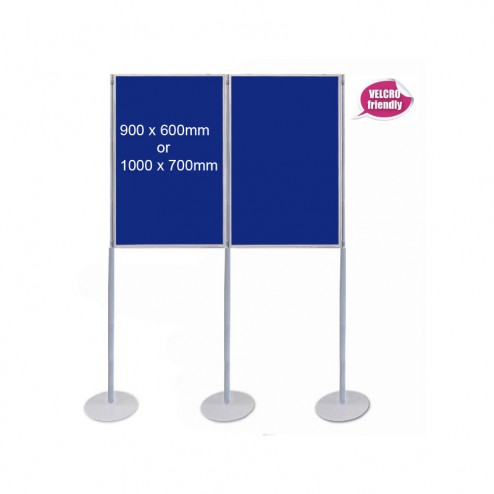 Modular Pole & Panel Display System