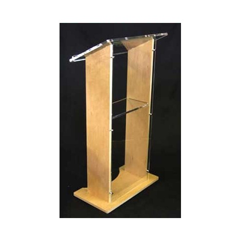 Stage Lectern - Clear Front