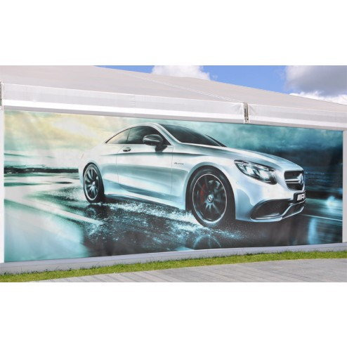 Banner up to 2.6m wide by any length