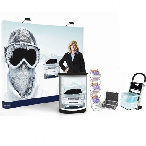 Pop-Up Conference Dispay Stand Bundle