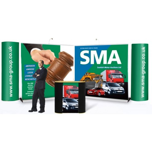 Exhibition Stand Design portable stands