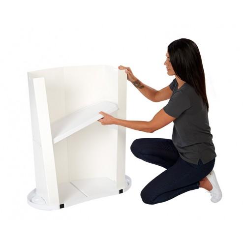 Removable internal shelf
