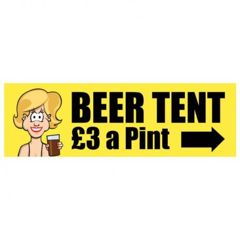 Banner - Beer Tent - 352