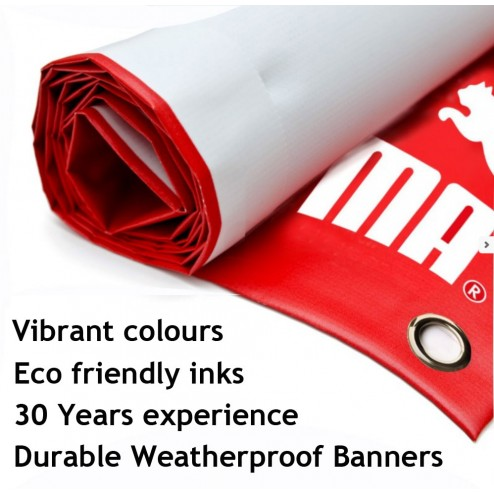 PVC banner printing for over 25 years