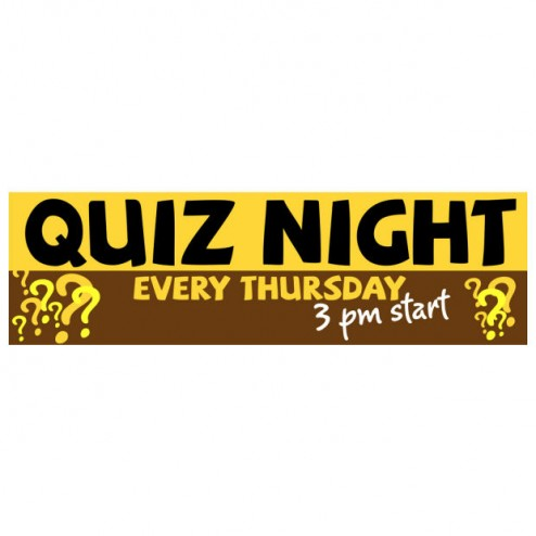 Banner - Quiz Night - 381