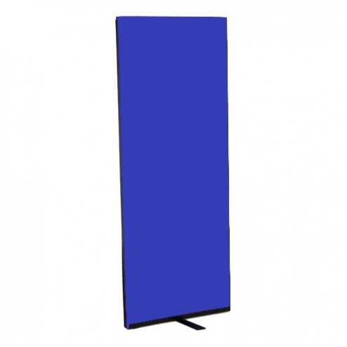 Narrow partition office screens