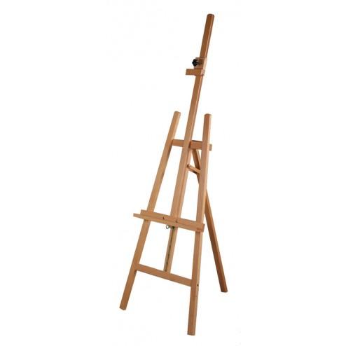 Beech wood folding retail easel