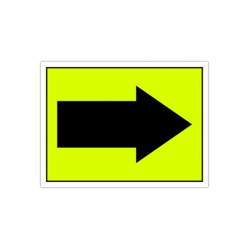 Arrow Right Event Sign