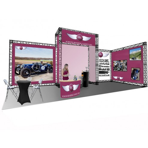 6x3 meter exhibition stand