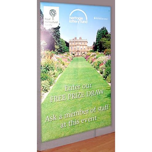 exhibition graphic panel