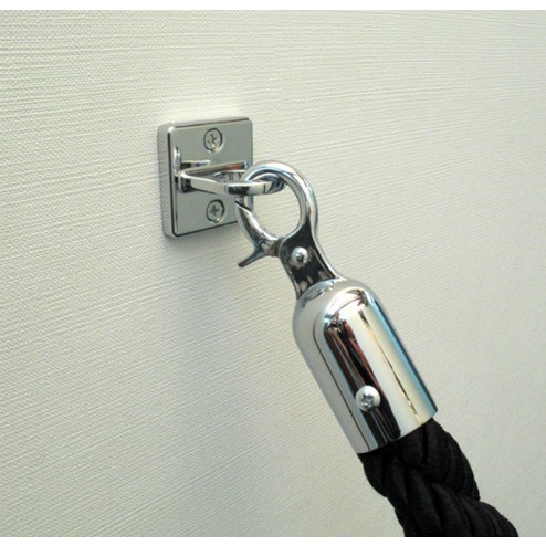 Rope for Stanchions with optional wall bracket