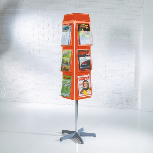 Rotating Brochure Carousel