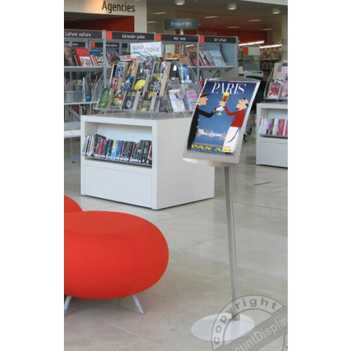 Library display stand