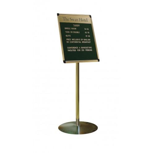 Gold finish variatex groove board