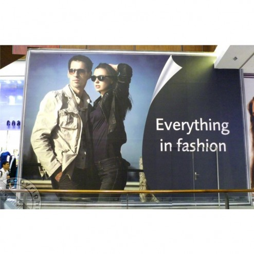 Retail billboard