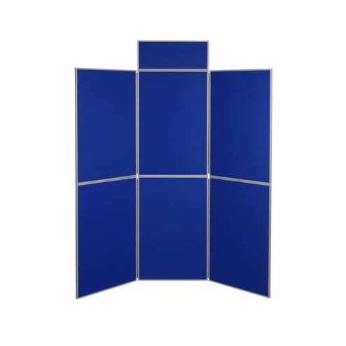 Folding panel display boards