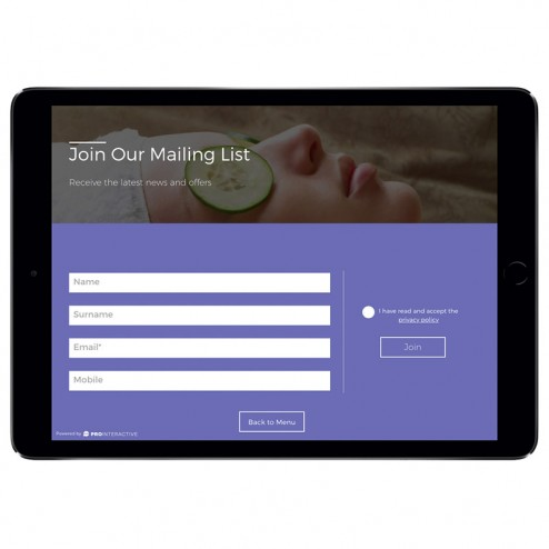 The Sign Up Module creates a simple way for you to increase your customer base