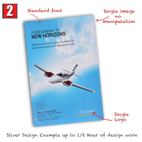 Silver design Package