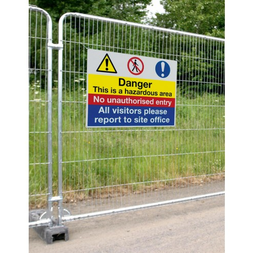 Correx Site Sign