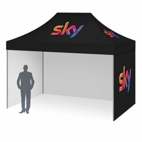 3x3m Custom printed canopy