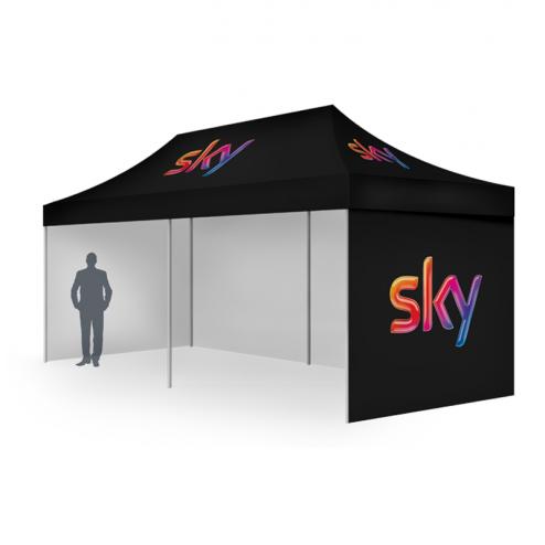 3x4.5m Custom printed canopy