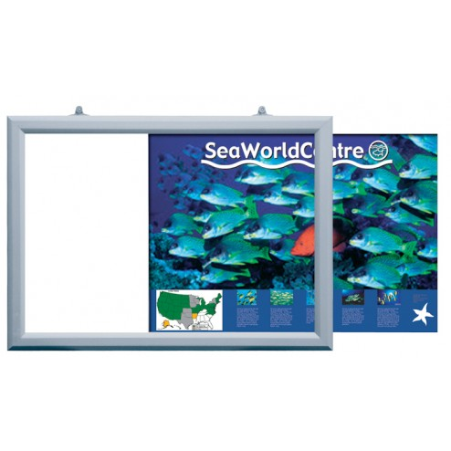 Double Sided Slide In Poster Frames - Landscape
