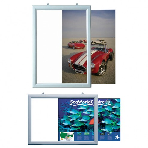 Double Sided Slide In Poster Frames