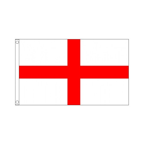 Printed 5ft x 3ft England St George Flag