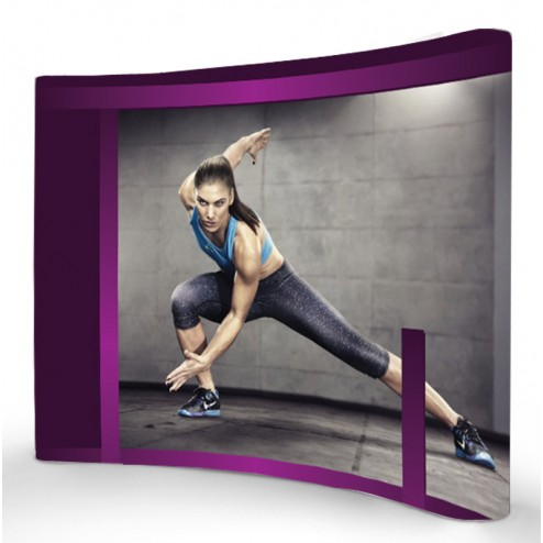 Pop up frame with full colour graphics