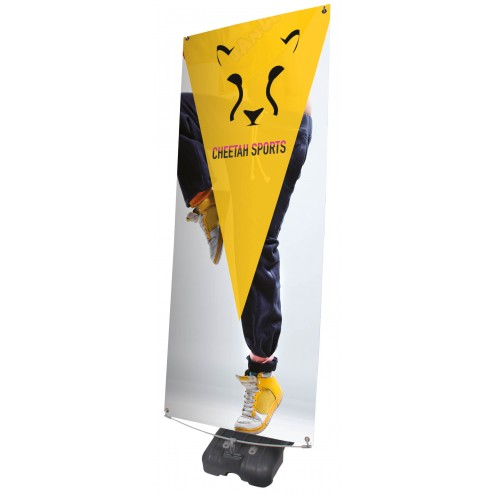 Storm hydro outdoor banner stand