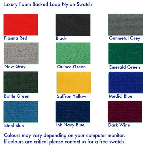 Loop Nylon Colour Options