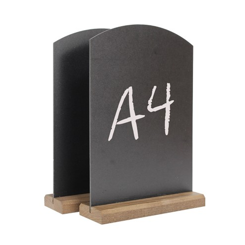 Table Top Chalk Boards - A4