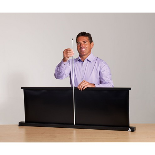 Easy to assemble portable projector screen