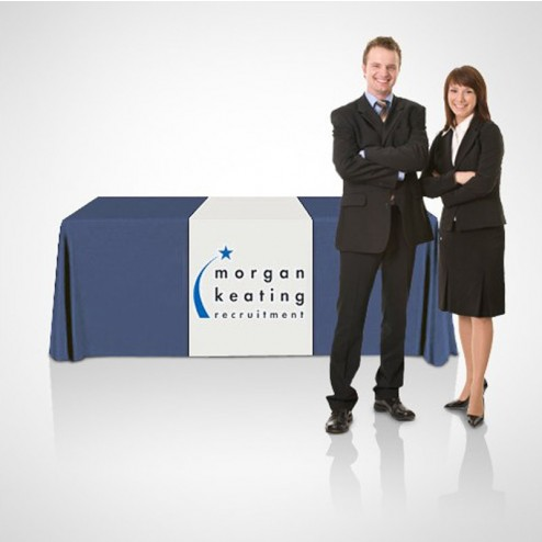 Custom Printed Show Table Runners For Exhibitions And Trade Shows