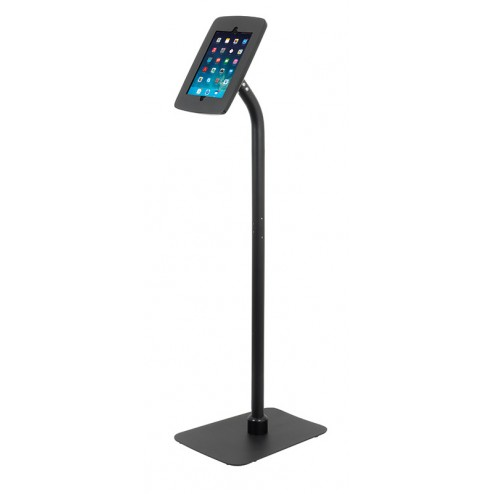 Black iPad Launchpad Display Stand - Portrait