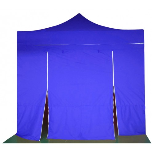 Commercial Grade 3x3 Pop Up Tent Blue Black White