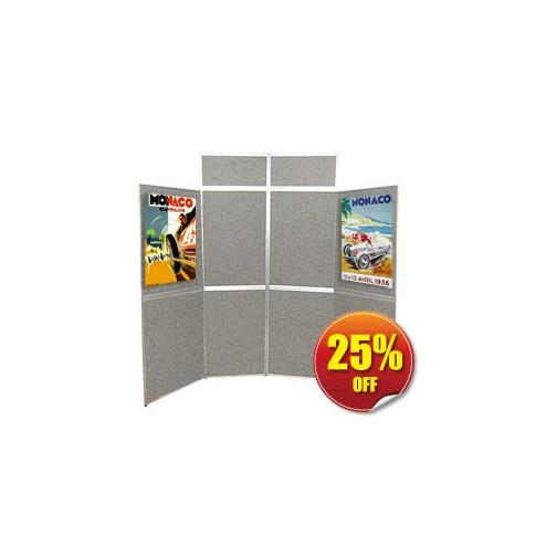 8 Panel Folding Display Boards
