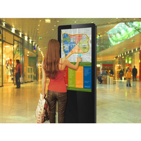 Ideal for use in shopping centers