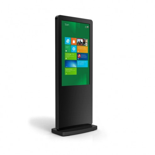 Freestanding Touchscreen Displays with Dual OS
