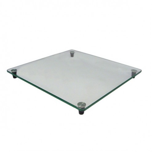 Toughened glass top