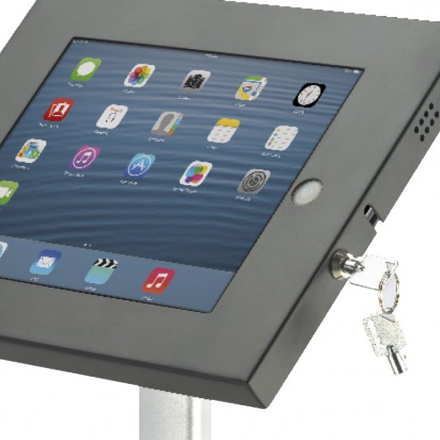 Lockable iPad Fascia