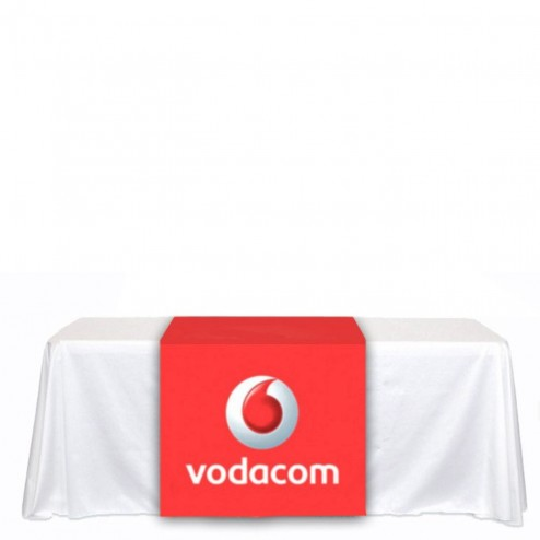 Trade Show Printed Table Runner