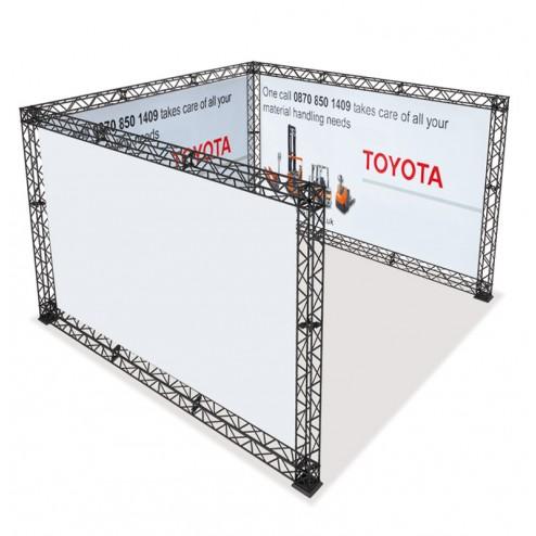 4x4 Modular Trade Show Display
