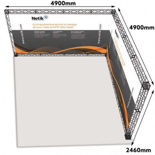 Trade Show Display Truss With Measurements