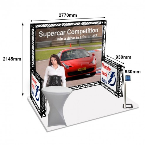 Gantry Exhibition Stand With Measurements