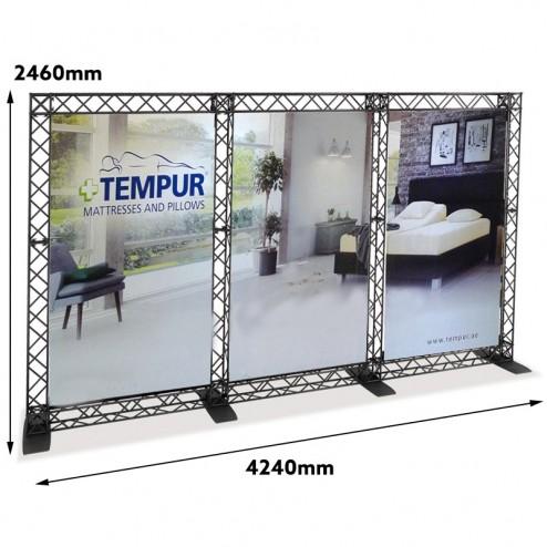 Modular Exhibition Systems - Measurements