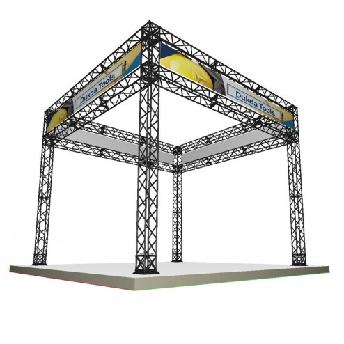 3x3m Truss exhibition booth