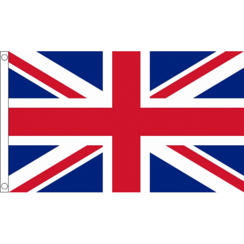 Durable Nylon Union Jack Flag - 5ft x 3ft